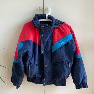 Vintage 80's Spirit Colorblock Ski Jacket